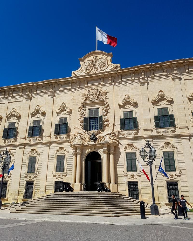 Berġa ta' Kastilja in Valetta, Malta