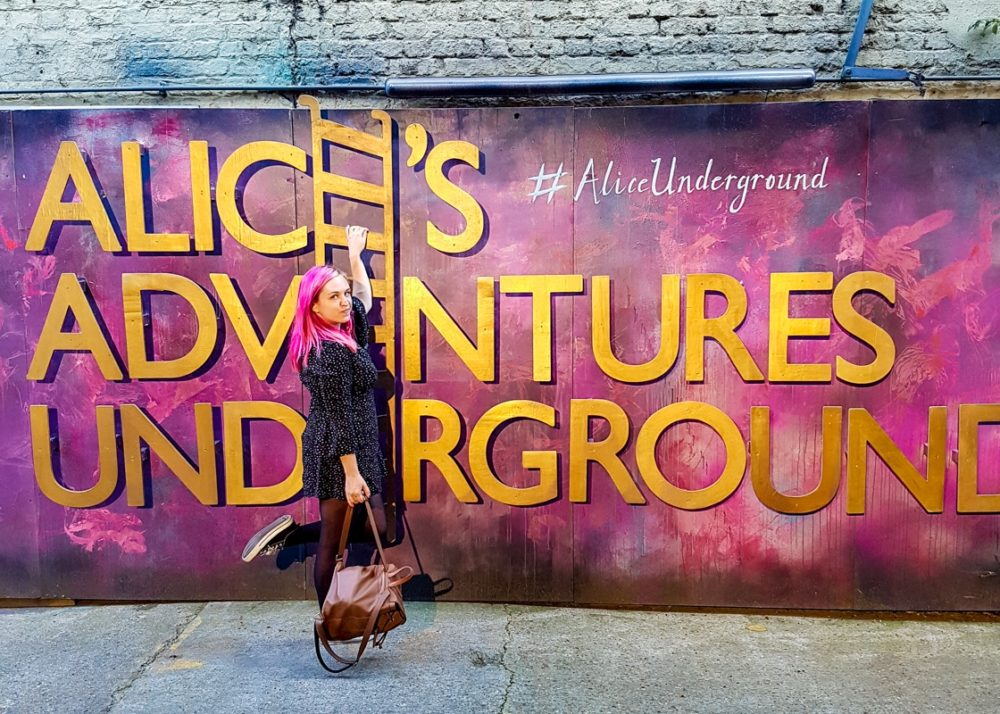 Alice's Adventures Underground Blog Review | Mini Adventures