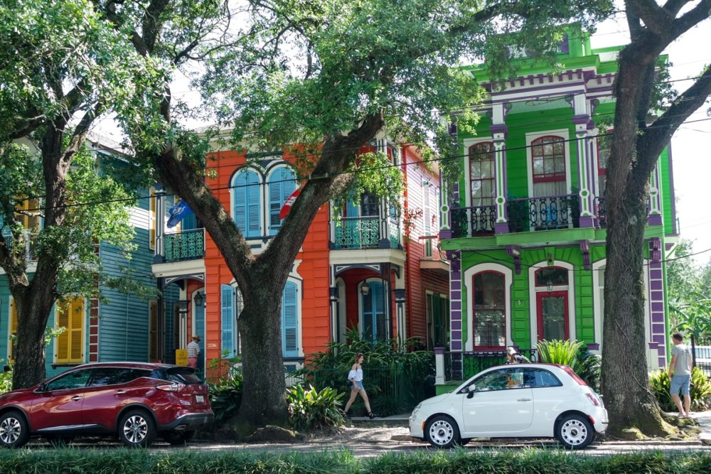 Colourful homes in New Orleans' Garden District | Mini Adventures