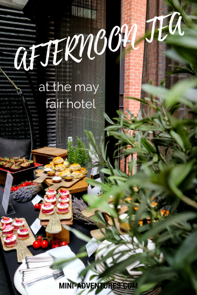 An International Afternoon Tea at the May Fair | Luxury hotel dining | International food | Food flatlays | London afternoon tea | Things to do