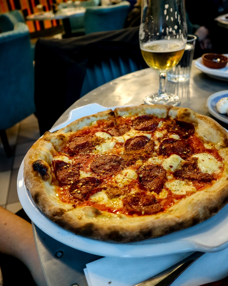 Pizza at Jamie's Pizzeria, Victoria | Mini Adventures Travel Blog
