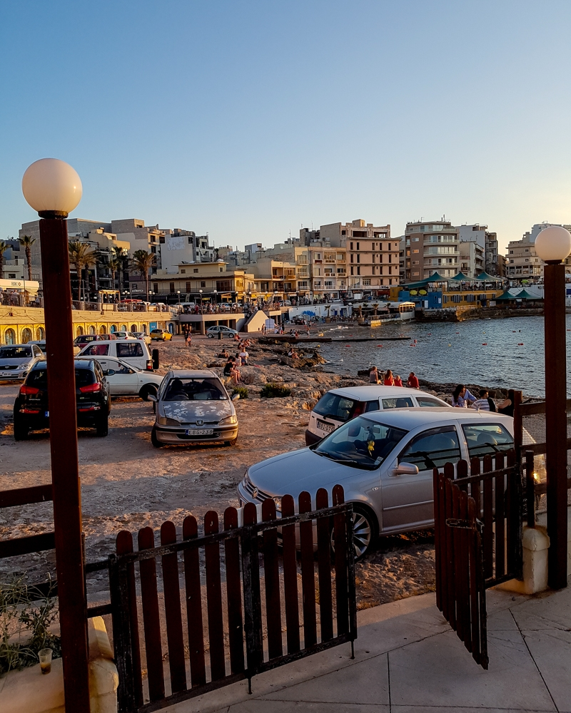 Buggiba seafront in Malta | Mini Adventures Blog