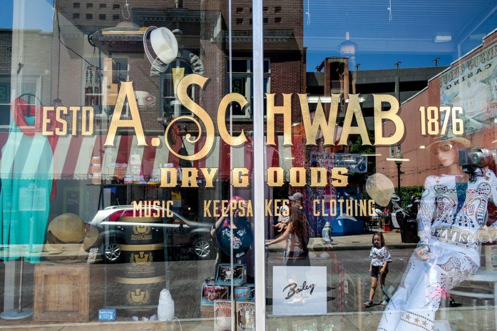 A Visit to A.Schwab's, Memphis