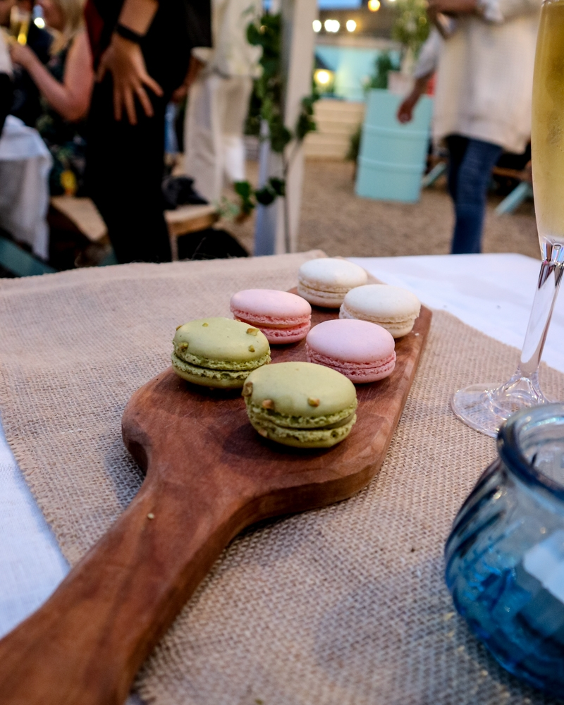 Macarons at Neverland urban beach, London | Mini Adventures