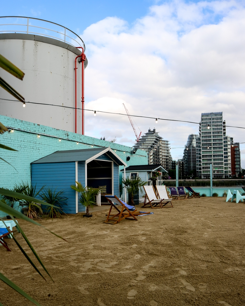 Neverland urban beach, London | Mini Adventures