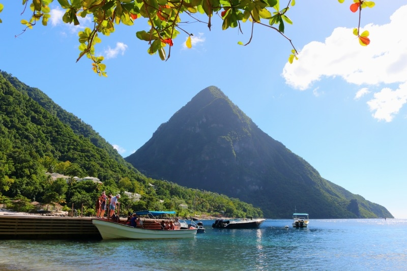Mountains in St Lucia