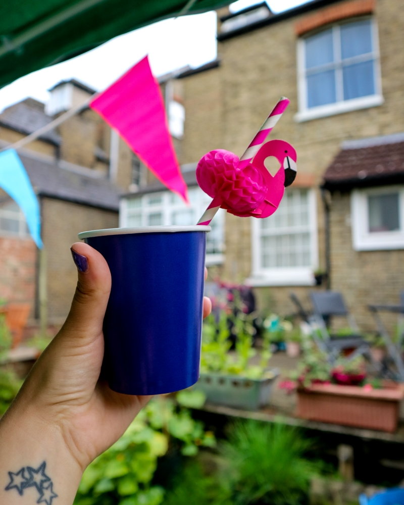 The perfect garden party with Newman's Own and Little Miss Katy | Mini Adventures