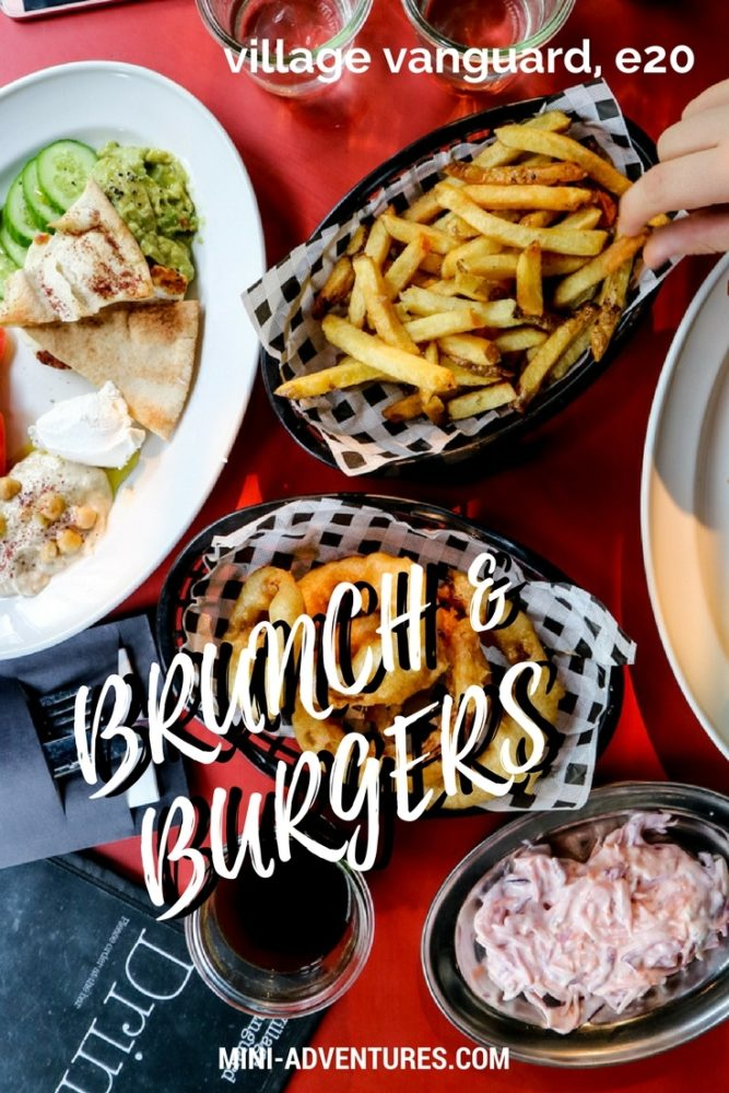 Brunch and Burgers at Village Vanguard, Stratford | London restaurants | Food photography | Lunch ideas | Mezze | East Village | Restaurant review | Eating out