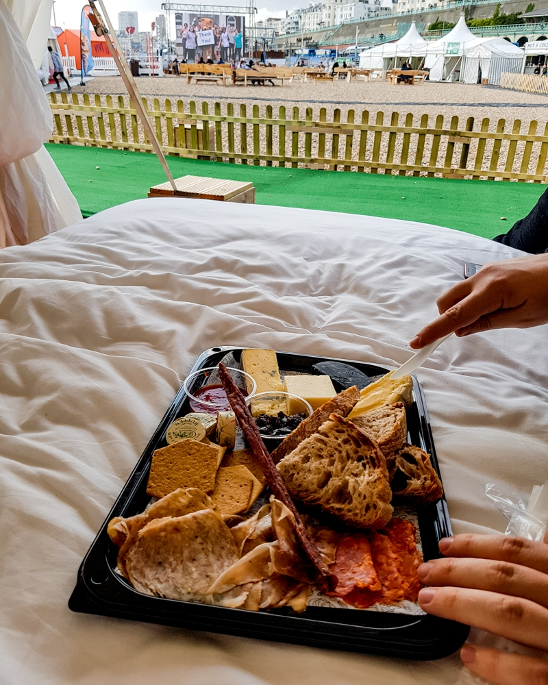 Ibis Sweetbed VIP experience at Brighton Big Screen | Mini Adventures