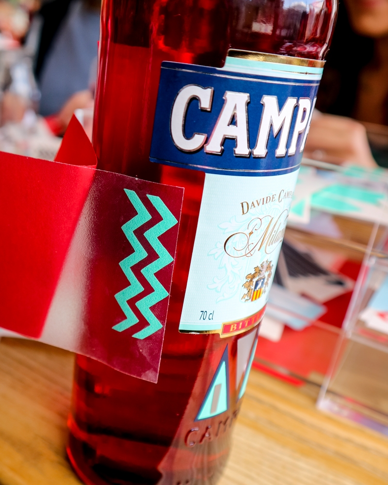 Campari Creates barge, London | Mini Adventures