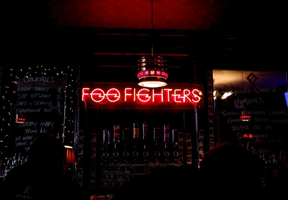 Foo Fighters Arms pop up pub | Mini Adventures