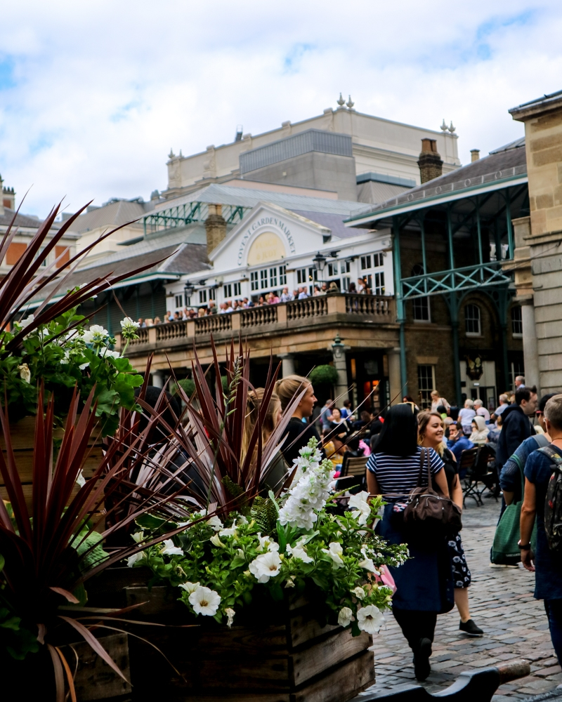 Where to take photos in London - Covent Garden