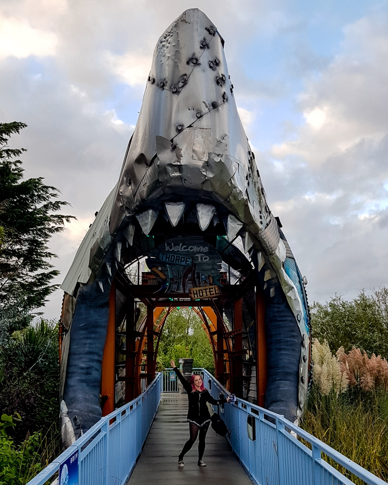 Thorpe Shark Hotel review | Mini Adventures