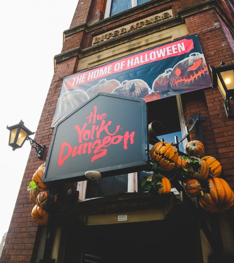York Dungeon exterior entrance