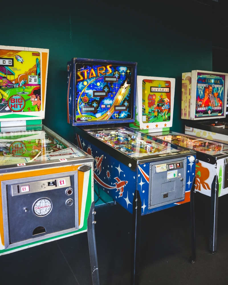 Arcade games at Dreamland park, Margate, Kent