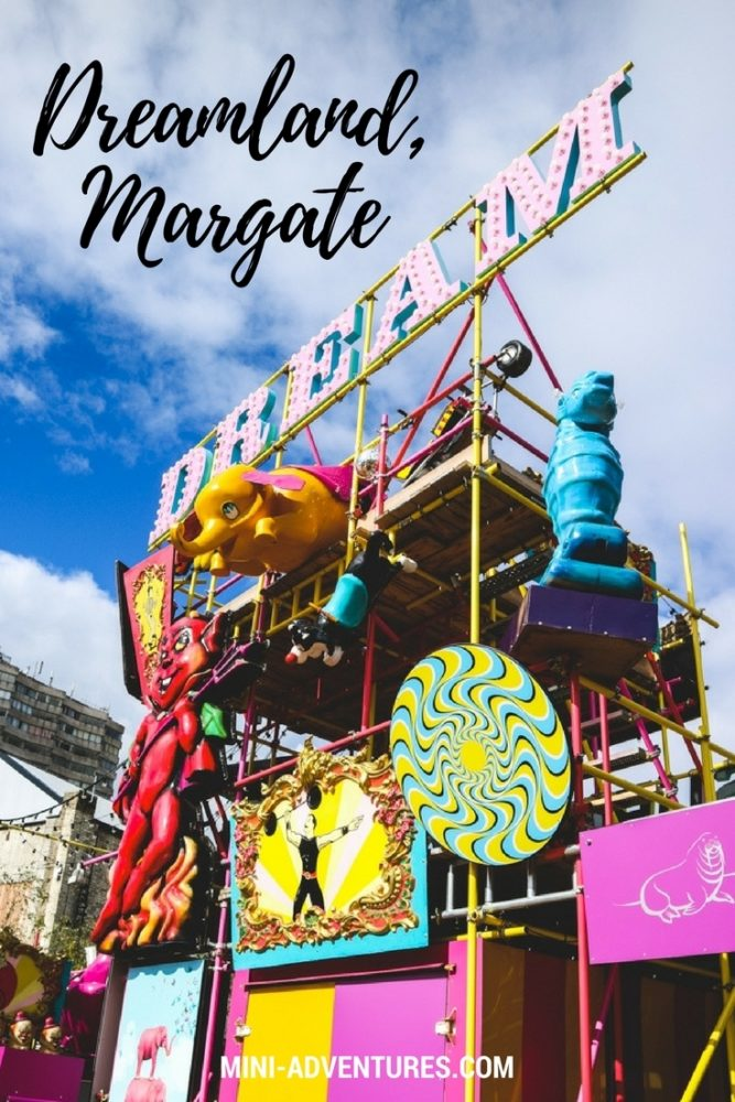 A Day at Dreamland | Things to do in Margate | Where to go in Kent | UK travel | Retro amusement park | Merry go-round | Candy floss | Travel journal