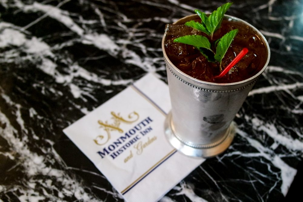 Mint Juleps at the Monmouth Inn, Natchez