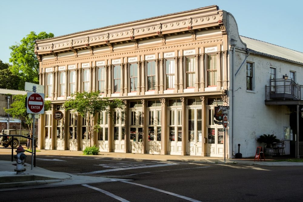 Building in Natchez, Mississippi