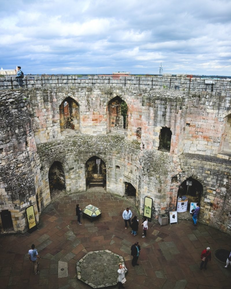 Clifford's Tower, York | The best things to do in York, England, UK