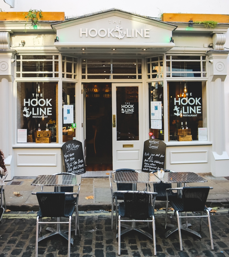Hook and Line fish and chip restaurant, York