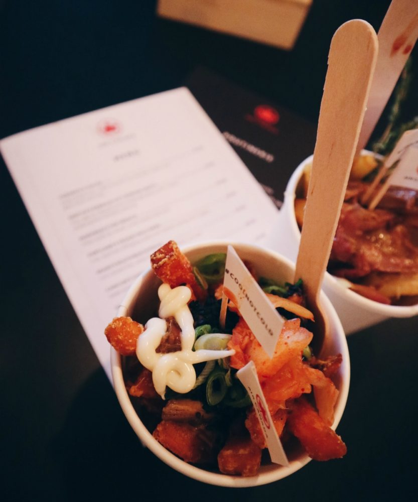 Air Canada Poutine Pop-Up, Shoreditch