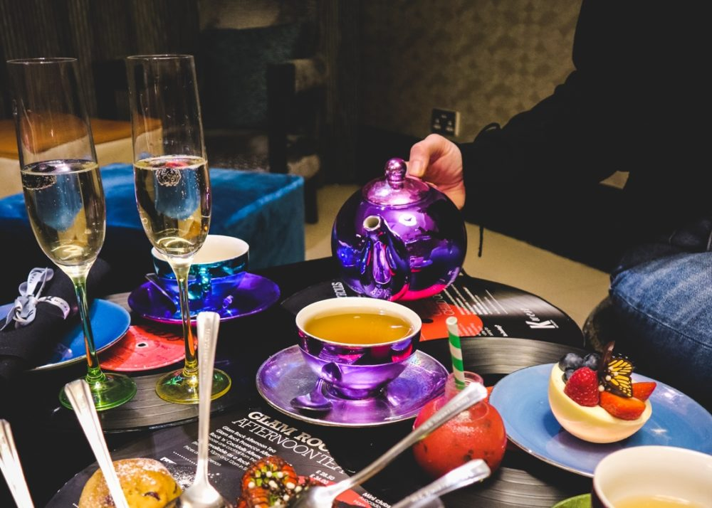 Glam Rock Afternoon Tea at K West Hotel and Spa, London
