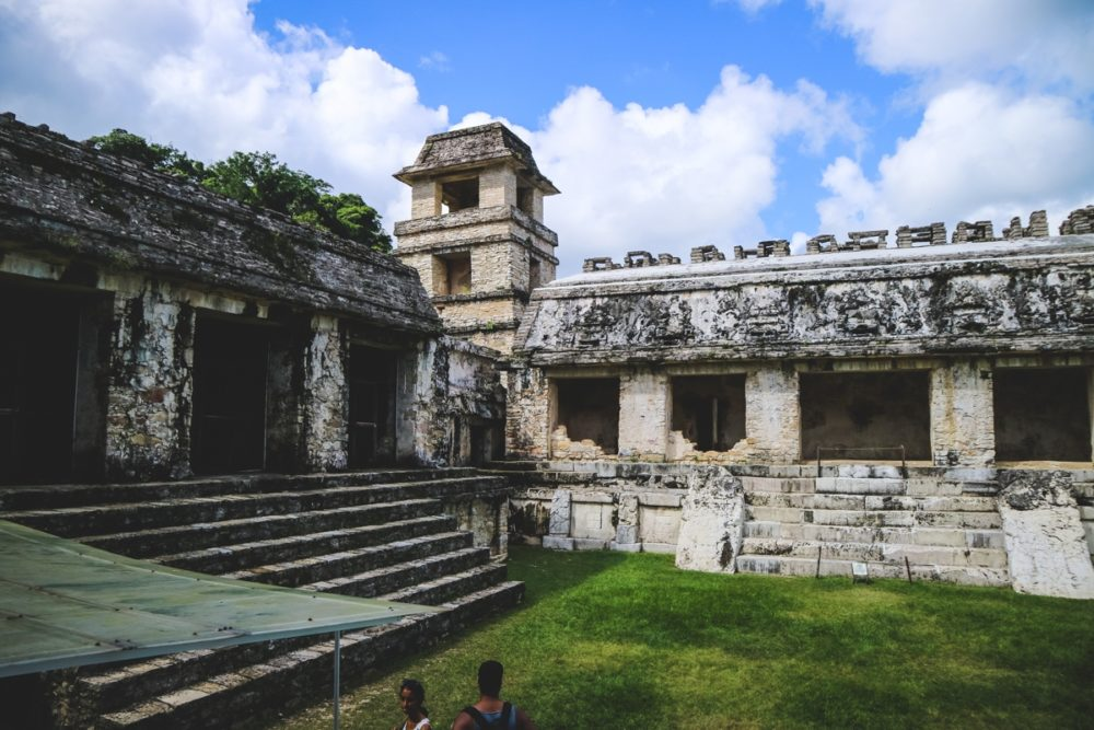 Mayan ruins in Mexico - Palenque