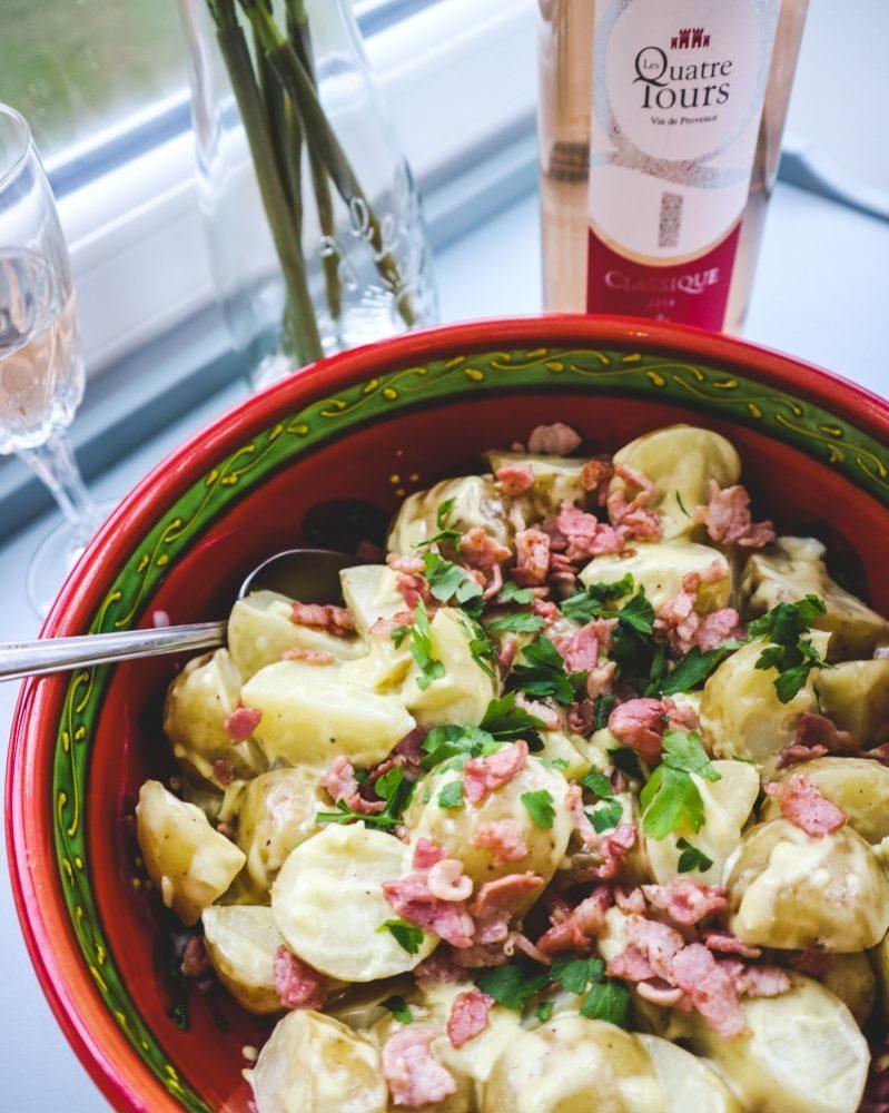 Lyonnaise Potato Salad Recipe