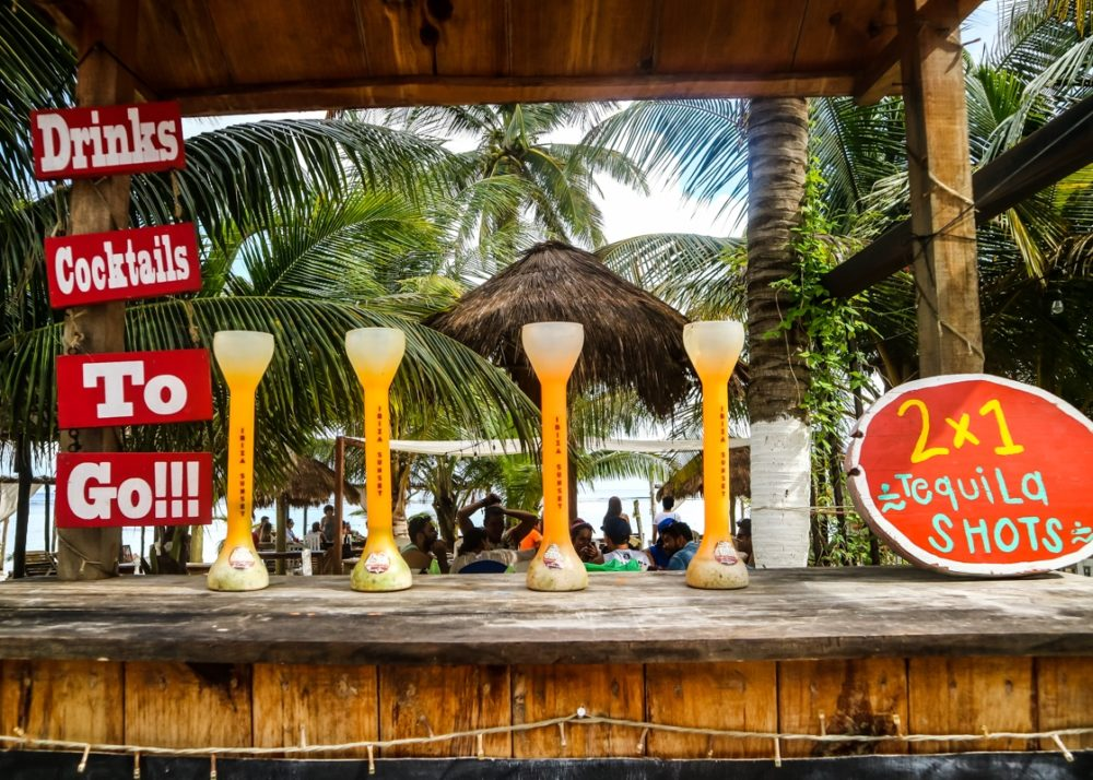Bar in Majahaul, Mexico