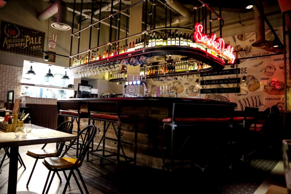 The Original Smokehouse restaurant Westfield London