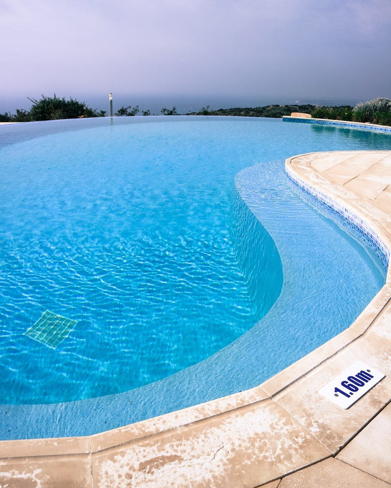 Pool at Aphrodite Hills, Cyprus