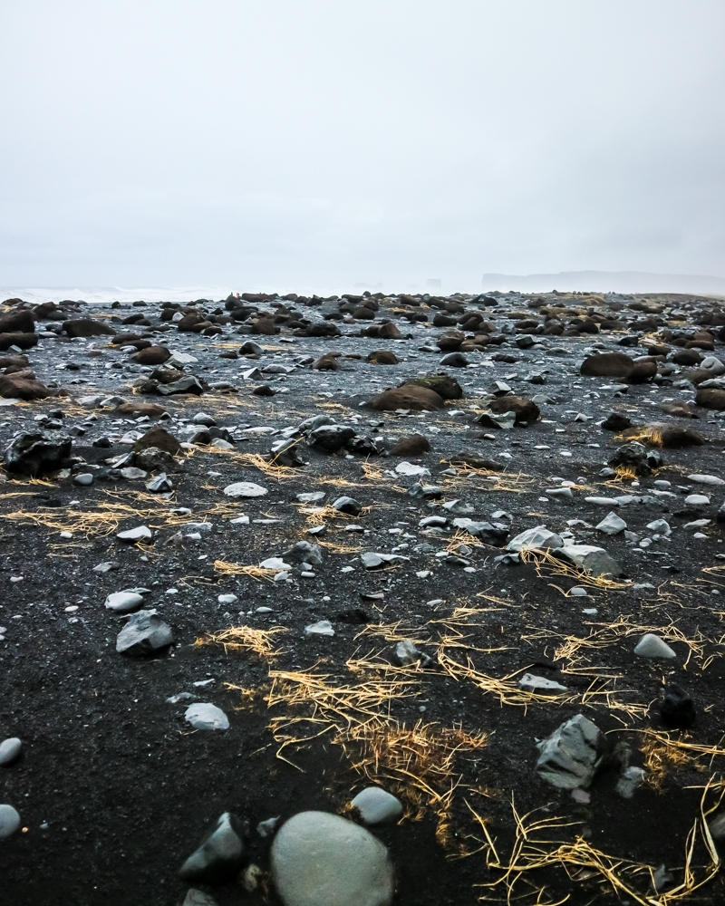 Reynisfjara Black Sand Beach | Pictures of Iceland in Winter #iceland #winterphotography #europe #nordiccountries #kinfolk