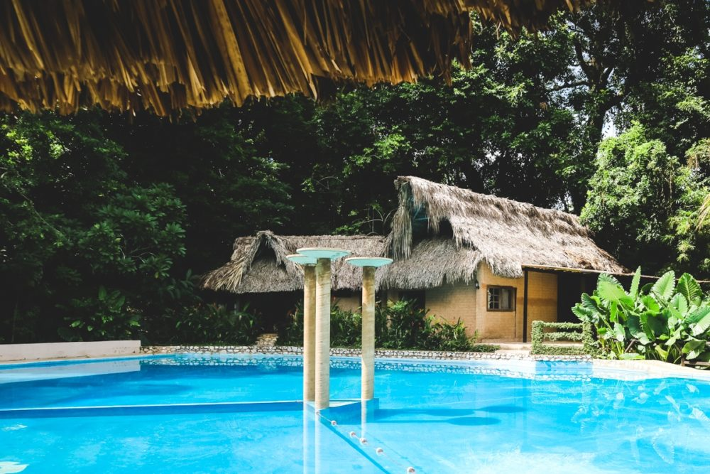 Jungle Lodge in Palenque, Mexico