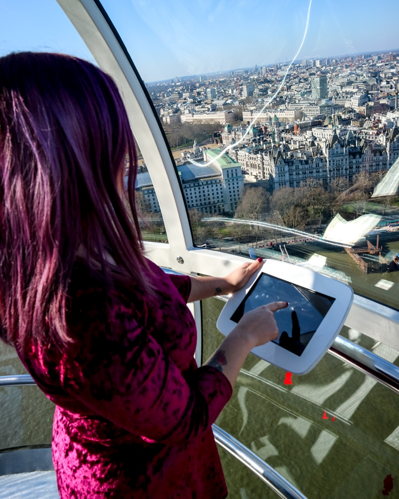 View From The London Eye | Mini Adventures UK Travel Blog