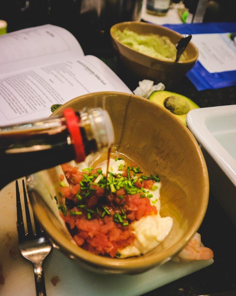 Sushi making class in London