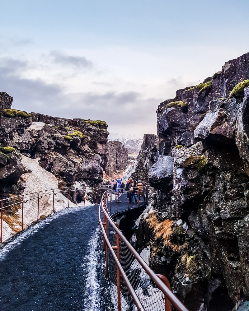 Thingvellir National Park in winter | Pictures of Iceland in Winter #iceland #winterphotography #europe #nordiccountries #kinfolk