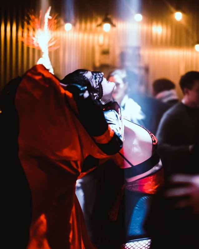 An Evening of Meat immersive dining and dance experience, The Vaults, Waterloo