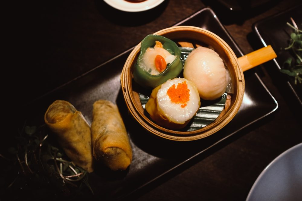 Dim Sum Platter from the Taste of Hakkasan Menu: Affordable Michelin star dining in London