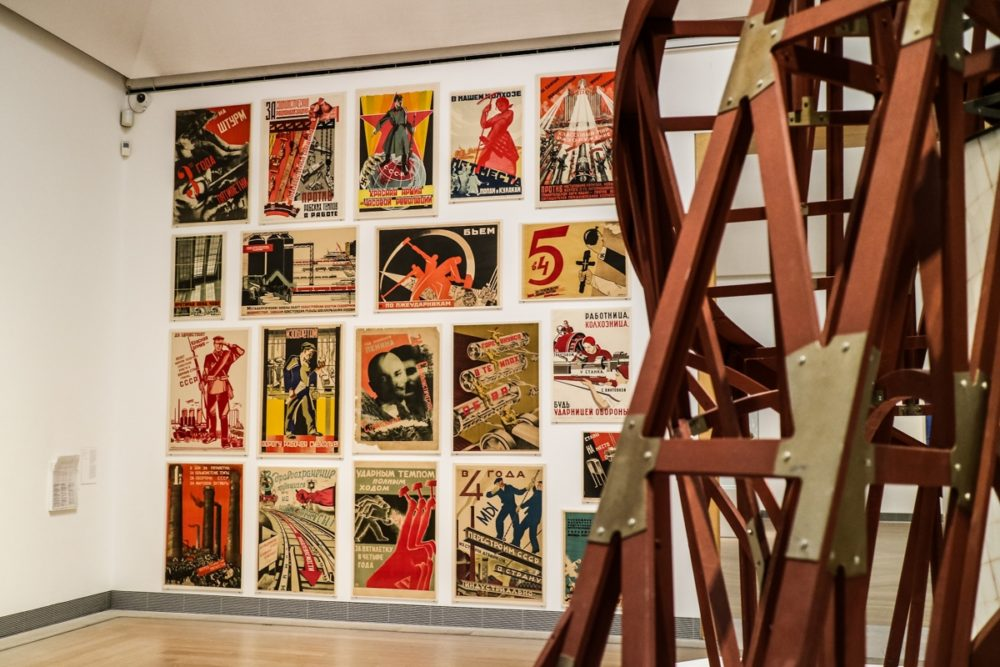 Russian propaganda artwork Stockholm Modern Art Museum