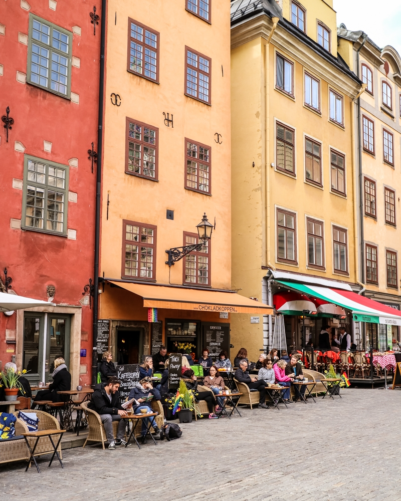 Street in Gamla Stan, Stockholm's Old Town