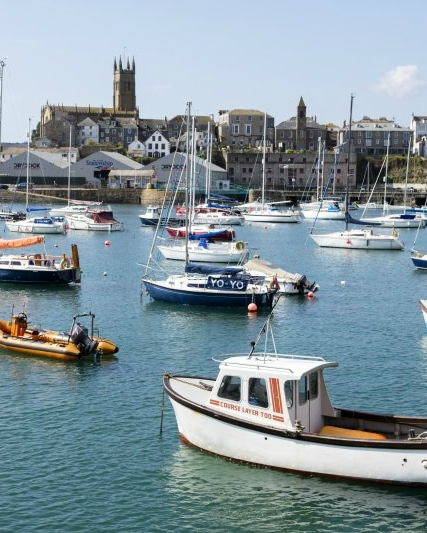 Penzance Bay, West Cornwall | Where to take a cottage break in Cornwall