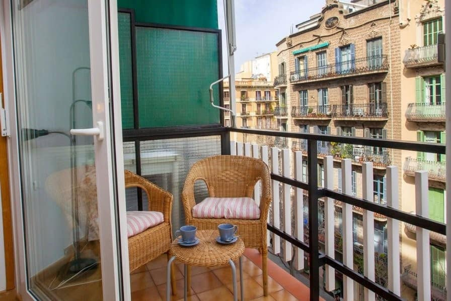 Barcelona villa balcony | Where to go on a girls' holiday in Europe