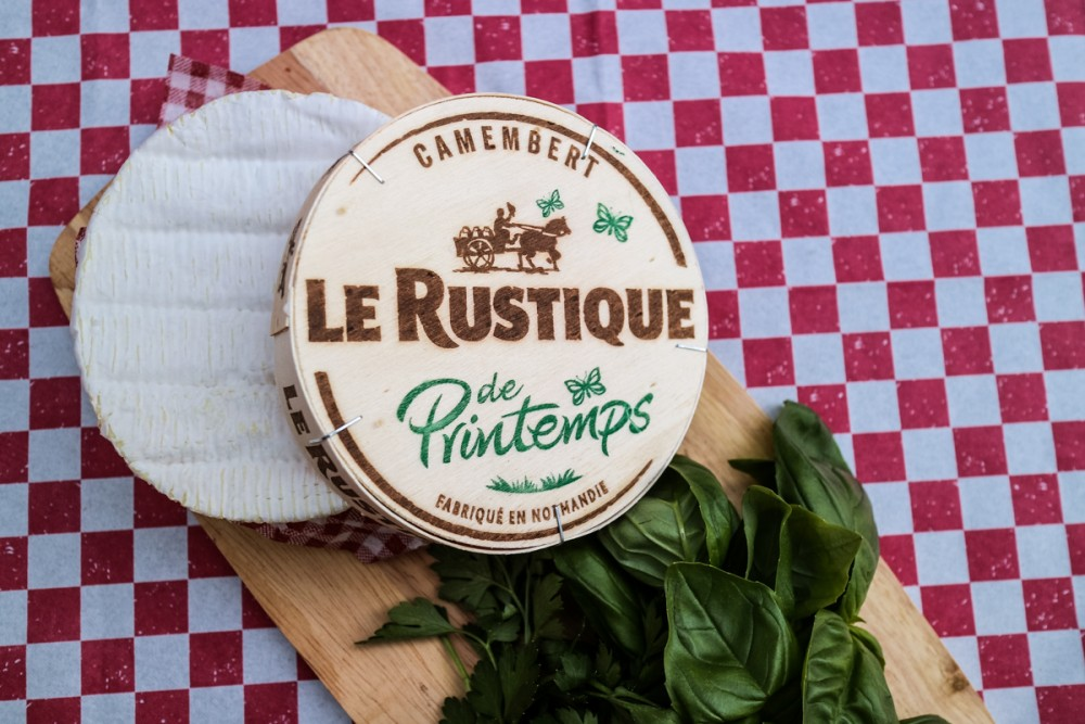 Le Rustique Camembert Cheese with herbs