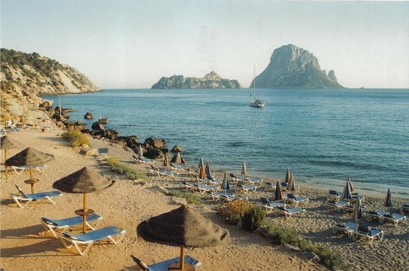 Ibiza coastline | Where to go on a girls' holiday in Europe
