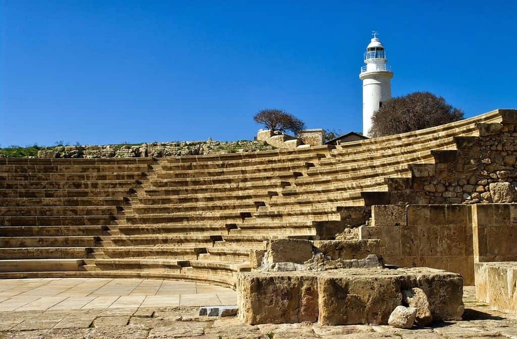 Lighthouse in Paphos, Cyprus | Where to go for a girls' holiday in Europe