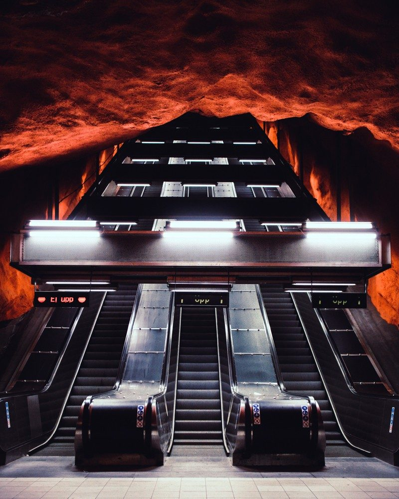A Stockholm Subway Art Tour: The Best Stations To See