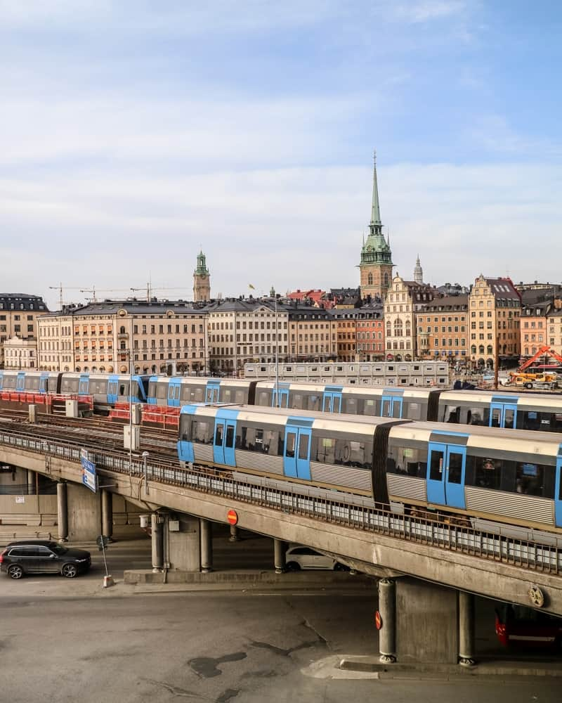 City View of Stockholm | Guide to visiting Stockholm on a budget