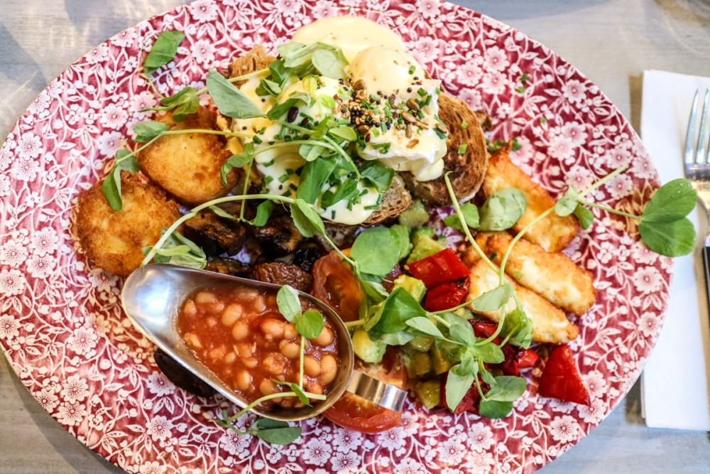 Review | Bill's Garden Vegetarian Brunch at Bill's Covent Garden restaurant