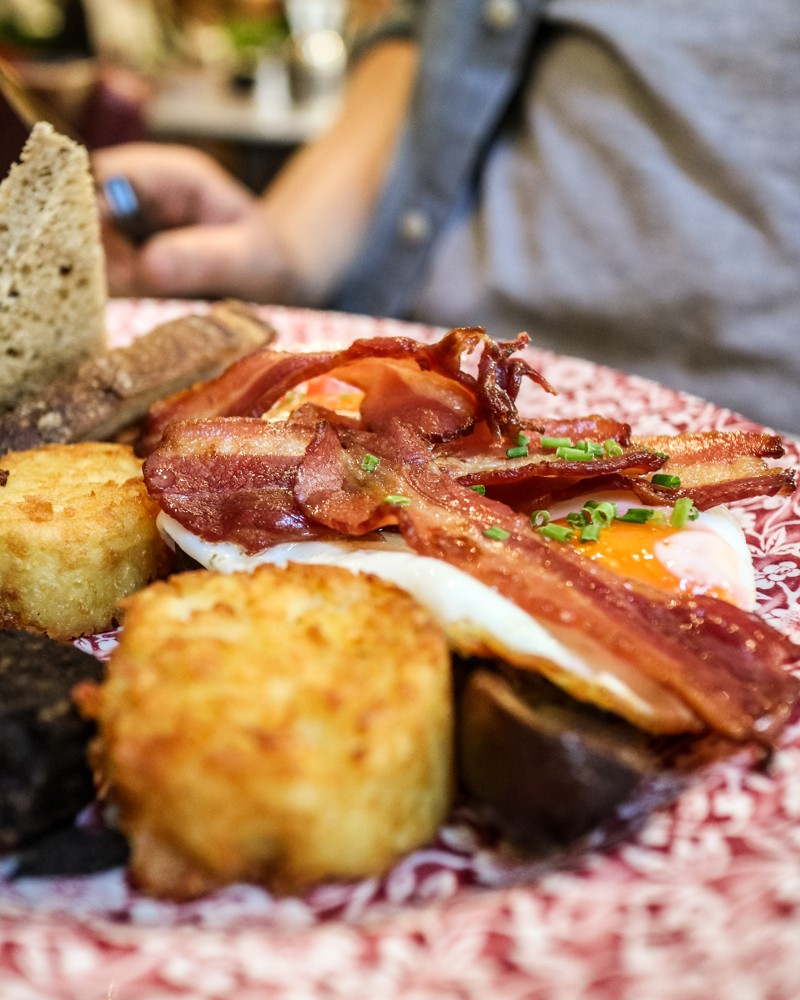 Review | Crispy Bacon and Potato Rosti for Bill's Brunch at Bill's Covent Garden restaurant