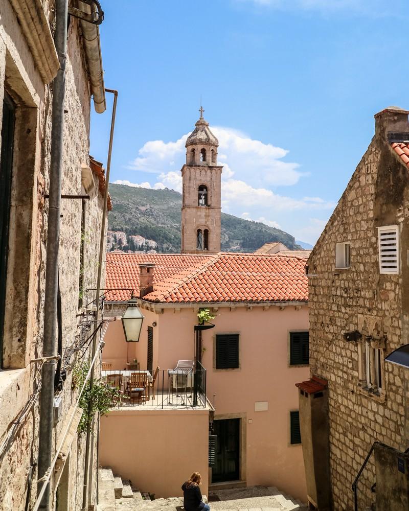 Street in Dubrovnik, Croatia